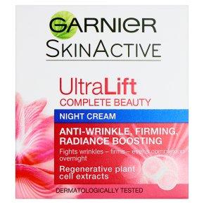 Garnier ultralift night firming cream