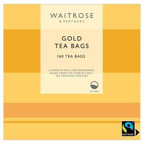 Waitrose Gold Round - 160 bags