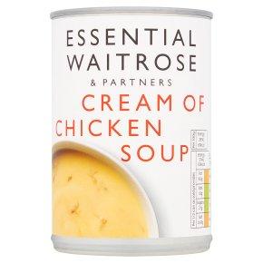 essential Waitrose cream of chicken soup