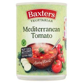 Baxters Vegetarian Mediterranean tomato soup