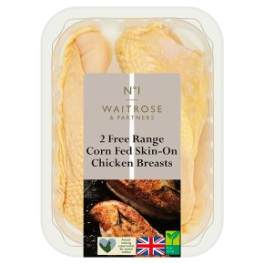 ​Waitrose 1 Free Range 2 boneless chicken breasts