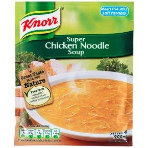 Knorr super chicken noodle dry soup