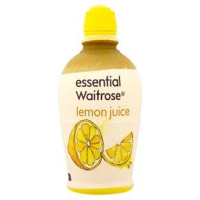 essential Waitrose lemon juice