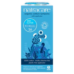 Natracare tampons super