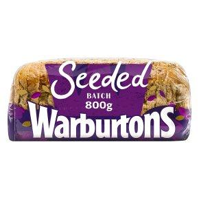 Warburtons seeded batch loaf
