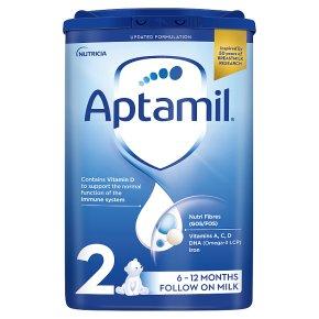 Aptamil 2 Follow On Milk Powder 6-12M