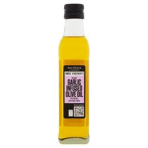 Waitrose garlic-infused olive oil