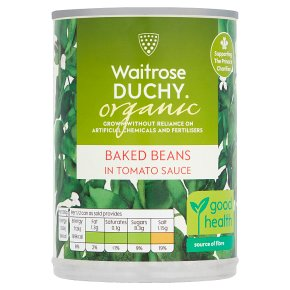 Waitrose Duchy Organic baked beans