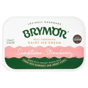 Brymor Real Dairy Ice Cream Strawberry