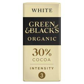 Green & Blacks Chocolate White
