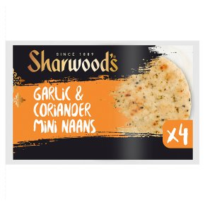 Sharwood's Mini Naan Garlic & Coriander