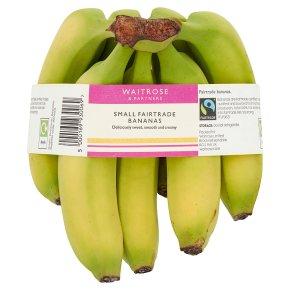 Small Fairtrade Bananas