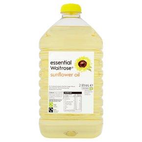 essential Waitrose sunflower oil