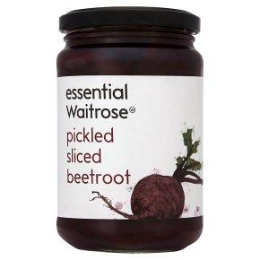 essential Waitrose sliced beetroot