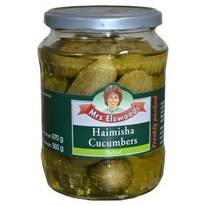 Mrs Elswood haimisha cucumbers