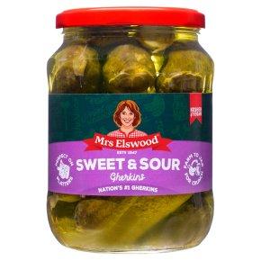 Kosher Mrs Elswood sweet sour cucumbers
