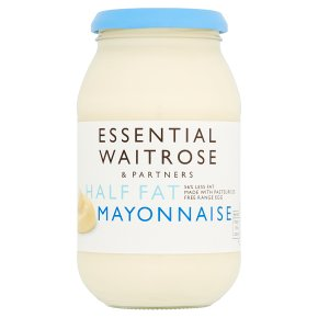 essential Waitrose half fat mayonnaise