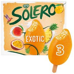 Solero exotic 3 pack ice cream lolly