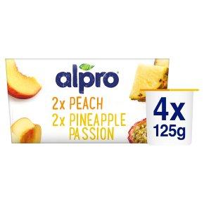 Alpro Soya exotic fruits plant-based alternative to yogurt