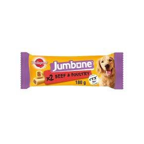 PEDIGREE Jumbone Medium Dog Treats with Beef 2 Chews