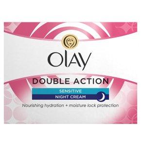 Olay Classic Care Double Action Moisturiser Night Cream Sensitive