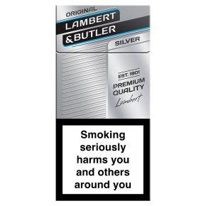 Lambert & Butler cigarettes