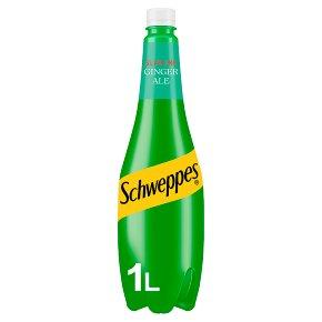 Schweppes slimline Canada dry ginger ale