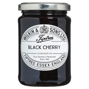 Wilkin & Sons extra jam black cherry conserve