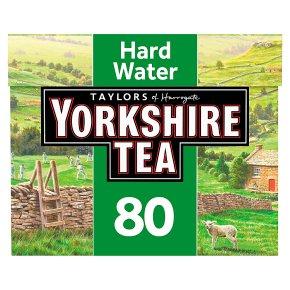 Taylors of Harrogate Yorkshire hard water 80 tea bags