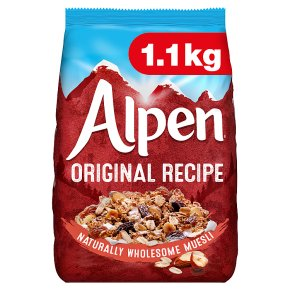 Alpen original Swiss recipe muesli