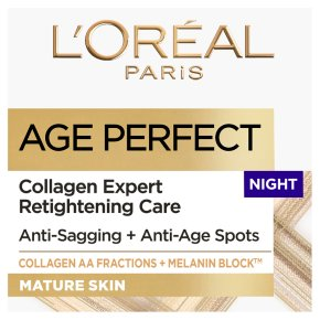 L'Oréal age perfect mature skin night