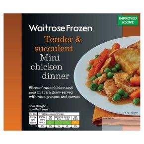 Waitrose Frozen mini chicken dinner