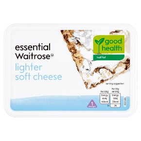 essential Waitrose lighter soft cheese, strength 1