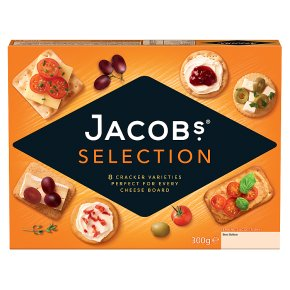 Jacob's Crackers Biscuits for Cheese