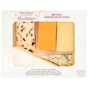 Waitrose Christmas British Cheese Selection