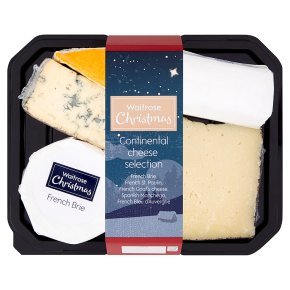 Waitrose Christmas Cont Cheese Selection