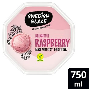 Swedish Glace raspberry non dairy frozen dessert