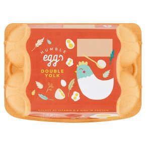 Stonegate eggs large double yolk
