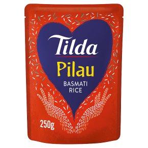 Tilda Pilau Microwave Basmati Rice Classics
