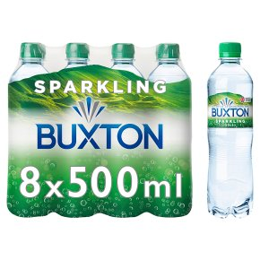 Buxton sparkling natural mineral water