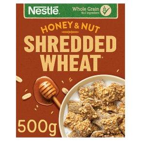 Shredded Wheat Honey Nut
