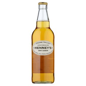Henney's Dry Cider Herefordshire