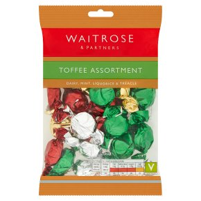 Waitrose assorted toffees