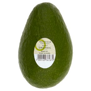 Waitrose Duchy Organic home ripening avocado