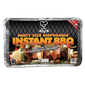 Big K Disposable Picnic Barbecue, Large