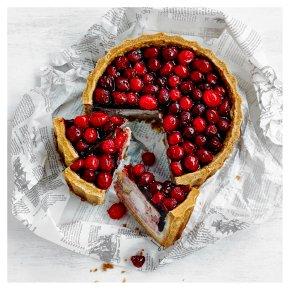 Pork, Turkey & Cranberry Pie