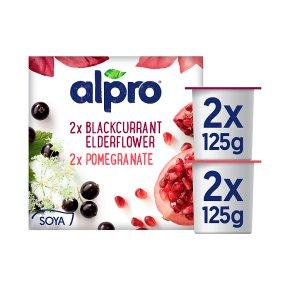 Alpro Soya forest fruits plant-based alternative to yogurt