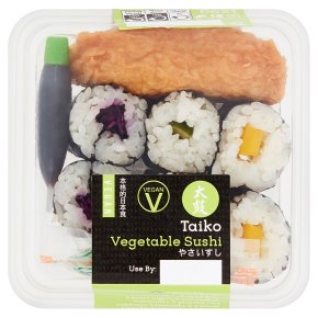 Taiko Vegetable Sushi
