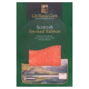 Ghillie & Glen Scottish smoked salmon minimum 6 slices