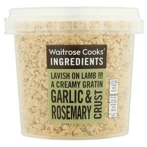 Waitrose Cooks' Ingredients garlic & rosemary crust